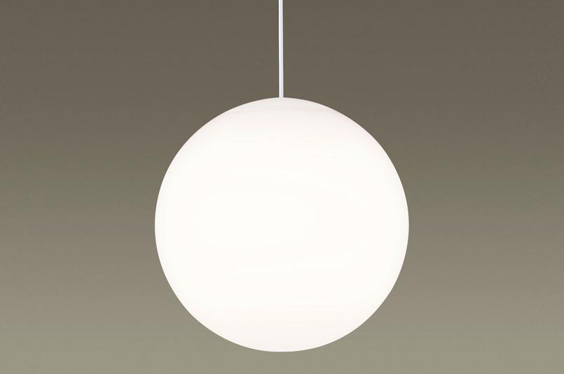 【エントリーでポイント+5倍!】[N]パナソニック LEDペンダントライト 配線ダクトライティングレール対応 電球色 ダイニング スフィア型 白熱60形2灯相当 LEDランプ付