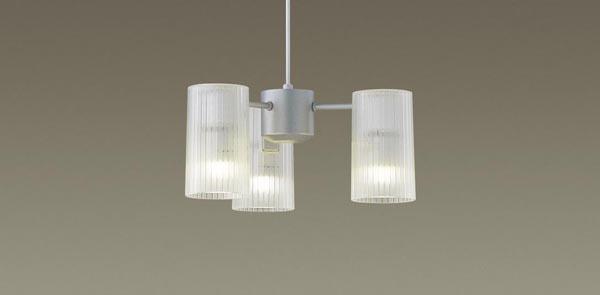 パナソニック LEDペンダントライト 直付けタイプ 電球色 シャンデリア 白熱40形3灯相当 LEDランプ付