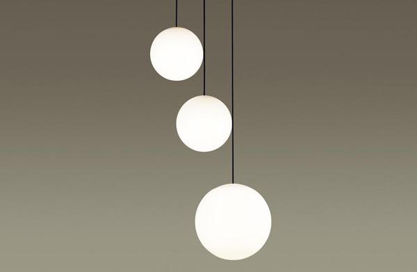 【エントリーでポイント+5倍!】[N]パナソニック LEDペンダントライト 直付けタイプ 電球色 吹き抜け用シャンデリア 白熱60形4灯相当 ~6畳4灯 LEDランプ付