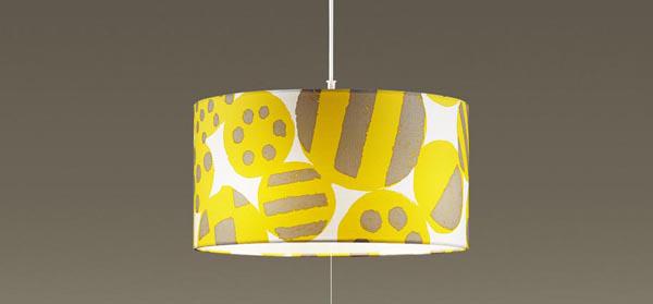 パナソニック LEDペンダントライト 直付けタイプ 電球色 布セードタイプ 白熱60形4灯相当 ~6畳4灯 LEDランプ付