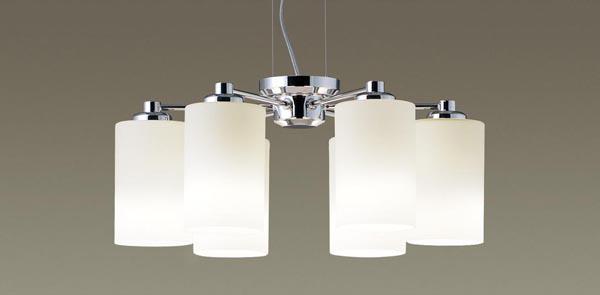 【エントリーでポイント+5倍!】[N]パナソニック LEDペンダントライト 直付けタイプ 電球色 吹き抜け用シャンデリア 白熱50形6灯相当 ~10畳6灯 LEDランプ付