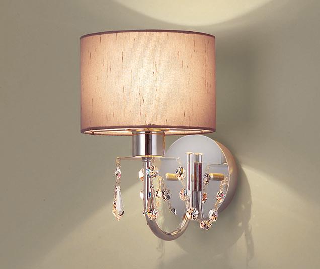[N]パナソニック LEDブラケットライト 壁直付型 電球色 ブラケット 白熱40形1灯相当 LEDランプ付