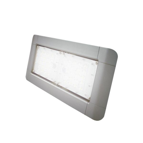 LED投光器 水銀等150W相当 消費電力40W 昼白色 配光角度35° フラットカバー 防塵防水IP67 看板照明 工場照明