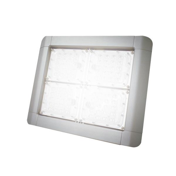 【割引クーポン配布中】在庫処分品なくなり次第終了 LED投光器 LED投光器 水銀等300W相当 消費電力80W 昼白色 配光角度75° フラットカバー 防塵防水IP67 看板照明 工場照明