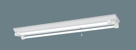パナソニック LED非常灯 天井直付型 直管LED 階段通路誘導灯 一般型 逆富士2灯 防湿防雨