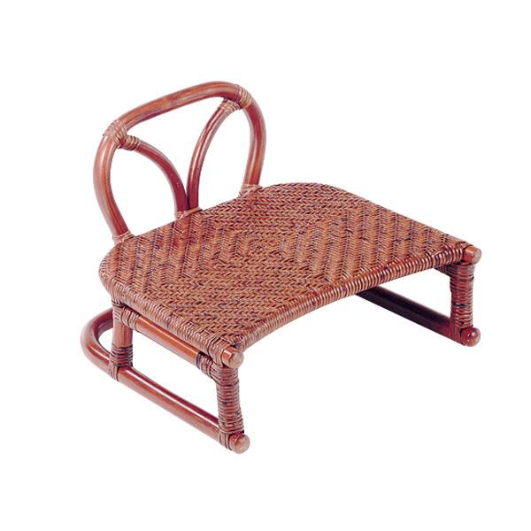 籐 ラタン 背付正座椅子 アジアン リゾート家具 高級ラタン エスニック バリ 高品質 温浴備品 おしゃれ 高耐久 長持ち
