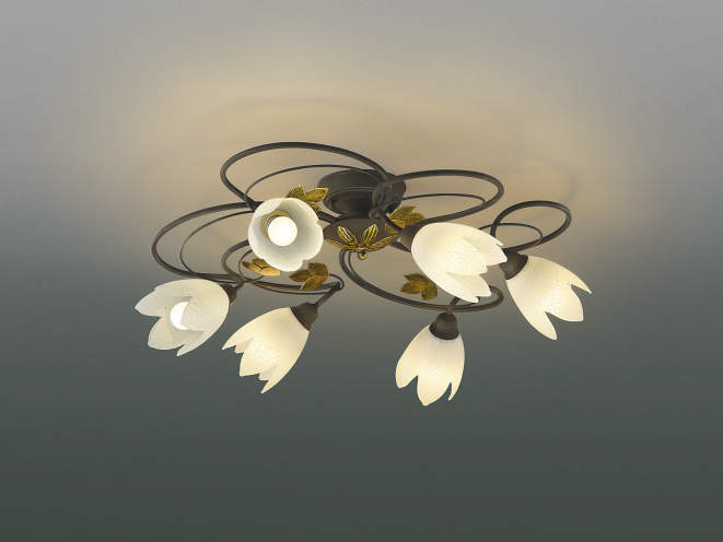 コイズミ照明 LEDシャンデリアライト ~4.5畳向け 2700K電球色 SBおゆうぎ会 特売限定 結婚祝 売れ行き好調 ピックアップ イベント&アイテム!