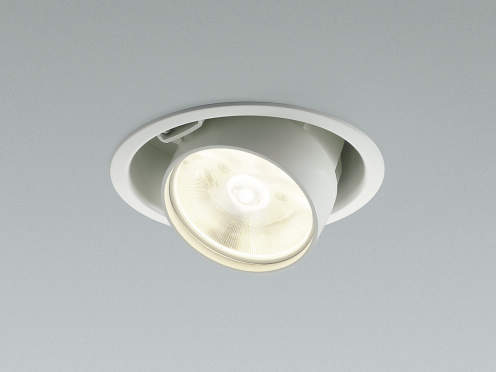 コイズミ照明 LEDユニバーサルダウンライト 3500K温白色