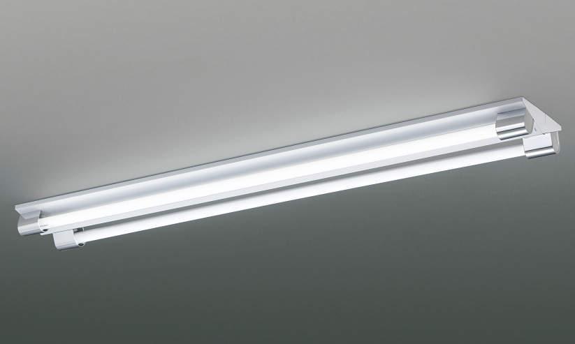 コイズミ照明 LEDベースライト直管器具2灯式逆富士器具 5000K昼白色