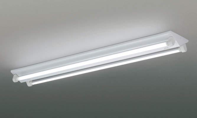 コイズミ照明 LEDベースライト逆富士2灯直管器具 5000K昼白色