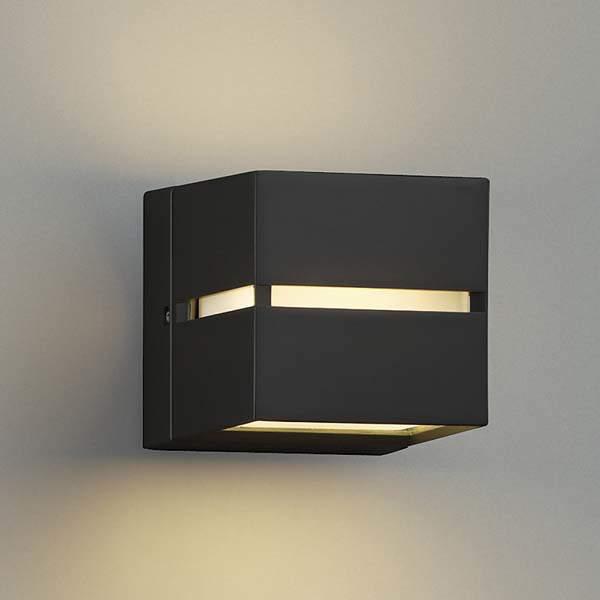 コイズミ照明 LED防雨型ブラケットライト 屋外 2800K電球色