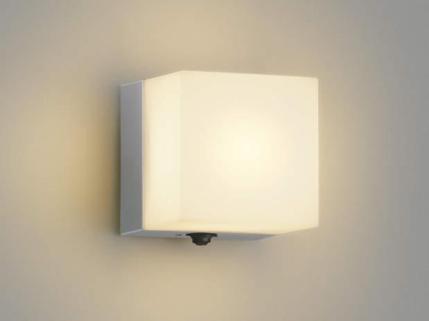 コイズミ照明 LED防雨ブラケットライト 玄関灯 屋外 人感センサー付 2800K電球色