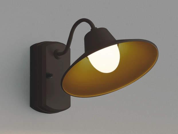 コイズミ照明 玄関灯 アンティーク LED防雨ブラケットライト 屋外 2700K電球色