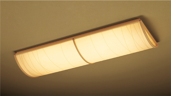 【エントリーでポイント+5倍!】遠藤照明 ENDO LED和風天井照明器具 灯具ランプセット 和モダン 直管LED蛍光灯 40W型直付器具 灯具 ナチュラルホワイト4000Kランプセット