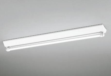 オーデリック 防雨 防湿型 LED蛍光灯器具ランプセット 逆富士40W1灯 LEDベースライト 昼白色 軒下取り付け専用 駐輪場 駐車場 マンション通路 共有部