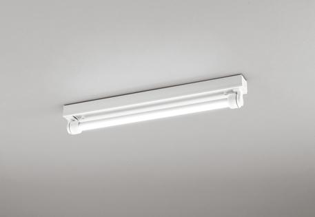 オーデリック 防雨 防湿型 LED蛍光灯器具ランプセット トラフ20W1灯 LEDベースライト 昼白色 軒下取り付け専用 駐輪場 駐車場 マンション通路 共有部