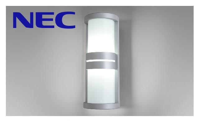 【エントリーでポイント+5倍!】NEC LED玄関灯 玄関灯 屋外照明 LED LED照明 LEDポーチライト ブラケットライト おしゃれ レトロ ポーチ灯 昼白色