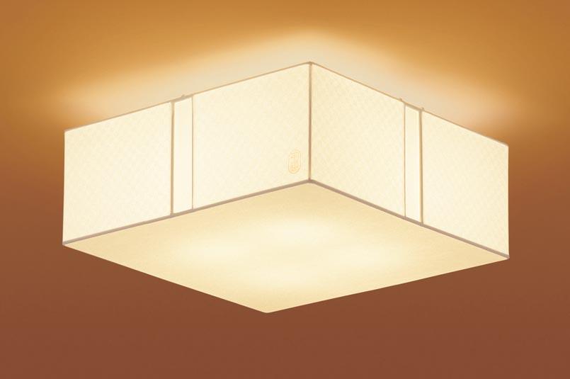 【エントリーでポイント+5倍!】[N]パナソニック天井直付型 LED(電球色) シーリングライト 草灯(そうとう) 白熱電球60形4灯器具相当 60形4灯 ランプ付き