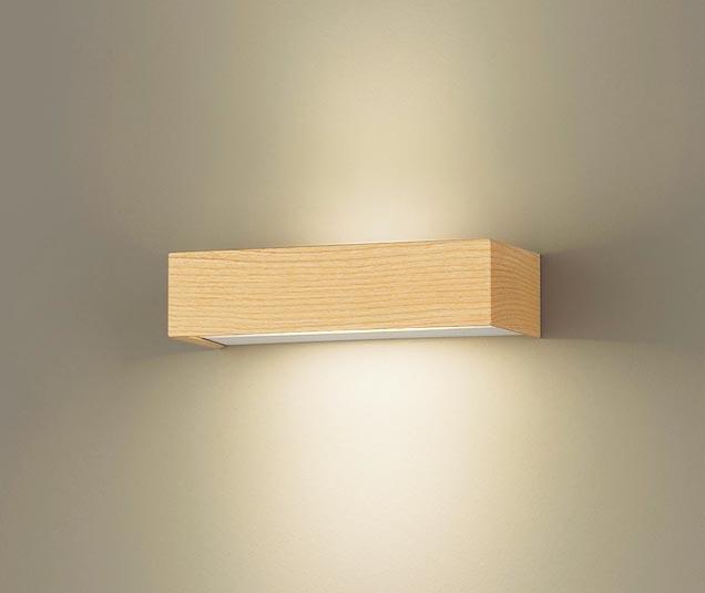 【エントリーでポイント+5倍!】[N]パナソニック壁直付型 LED(電球色) ブラケット 拡散タイプ ラインタイプ 白熱電球60形1灯器具相当