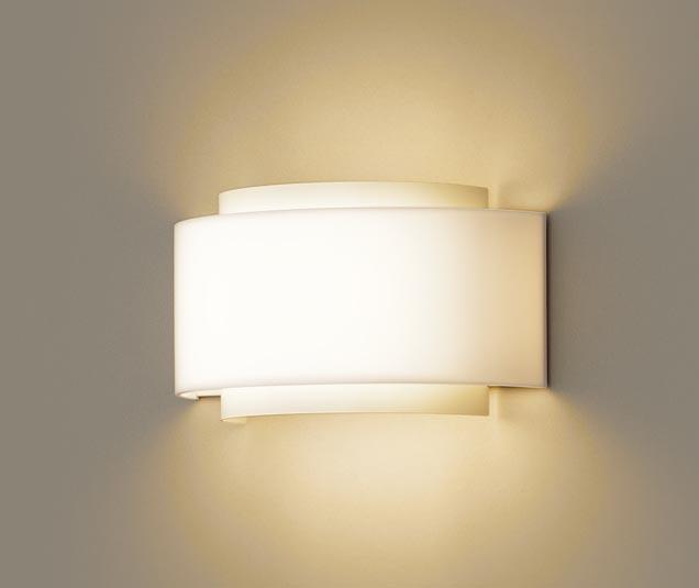 パナソニック壁直付型 LED(電球色) ブラケット 拡散タイプ 白熱電球60形2灯器具相当 60形2灯