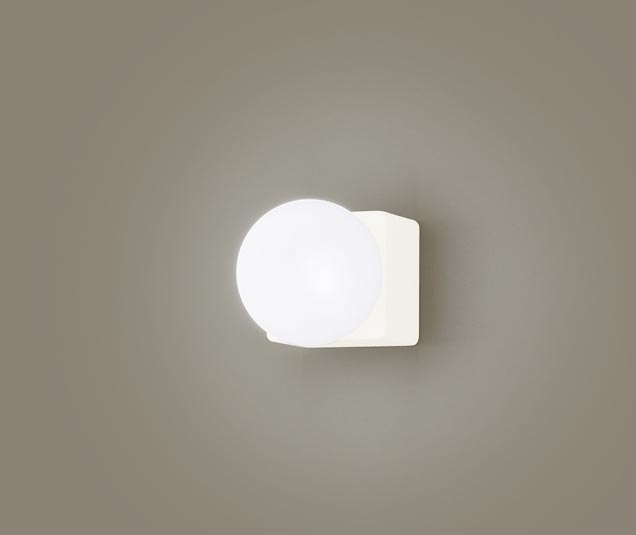 パナソニック壁直付型 LED(昼白色) ブラケット 美ルック・拡散タイプ(マイルド配光) 白熱電球60形1灯器具相当