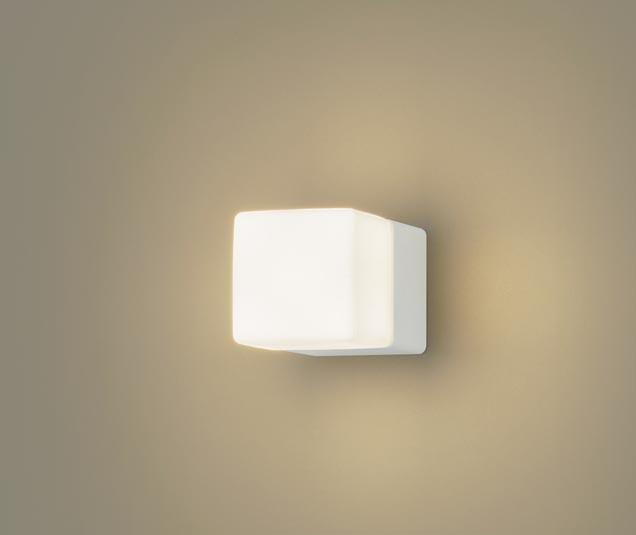 【エントリーでポイント+5倍!】[N]パナソニック壁直付型 LED(電球色) ブラケット 美ルック・拡散タイプ(マイルド配光) キューブタイプ 白熱電球60形1灯器具相当