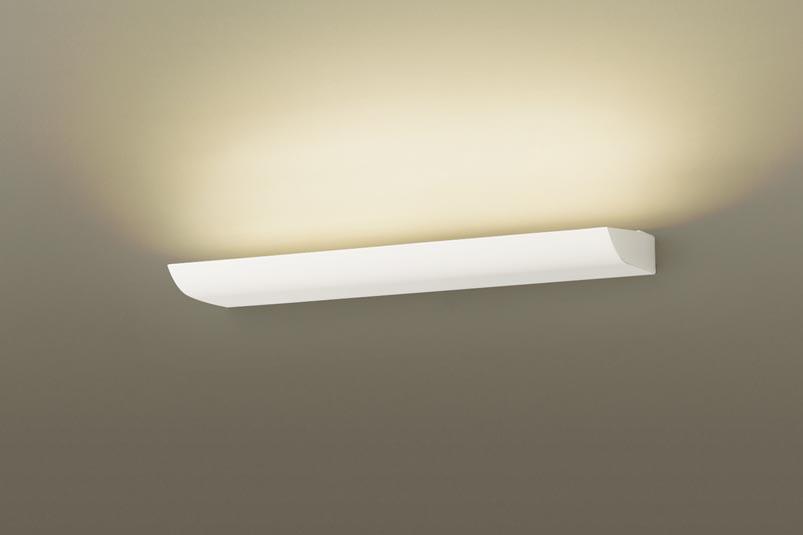 パナソニック壁直付型 LED(電球色) ブラケット 美ルック・拡散タイプ 調光可 直管形蛍光灯FL20形1灯器具相当 FL20形
