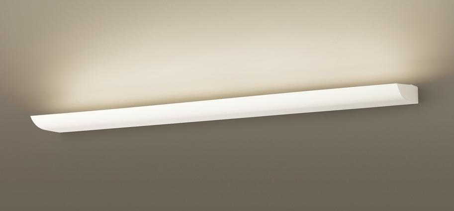 パナソニック壁直付型 LED(温白色) ブラケット 美ルック・拡散タイプ・建築化照明用 調光可 L1200タイプ 直管形蛍光灯FLR40形1灯器具相当 FLR40形