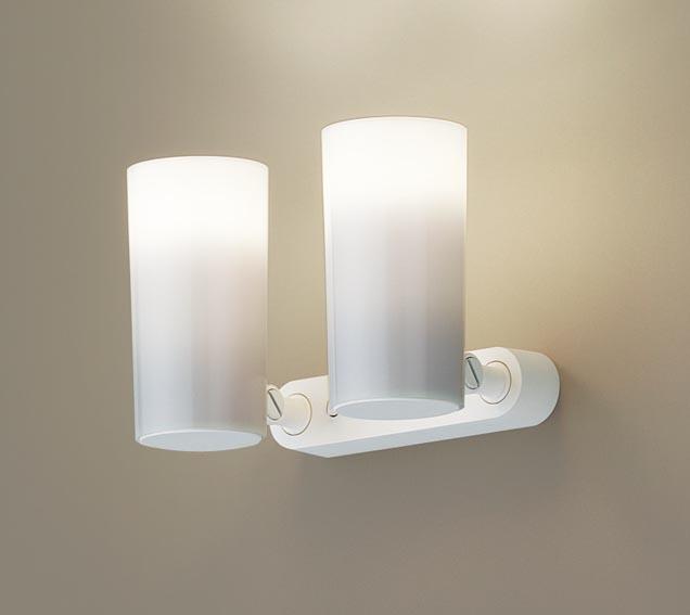 【エントリーでポイント+5倍!】[N]パナソニック天井直付型・壁直付型・据置取付型 LED(電球色) スポットライト ポリカーボネートセードタイプ 白熱電球30形2灯器具相当 ランプ付き