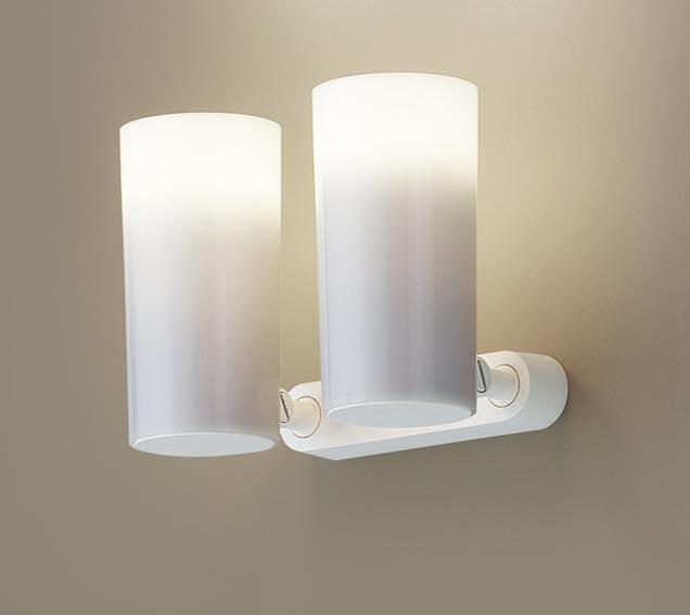 パナソニック天井直付型・壁直付型・据置取付型 LED(電球色) スポットライト ポリカーボネートセードタイプ 白熱電球50形2灯器具相当 50形 ランプ付き