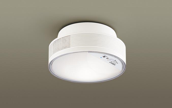 パナソニック天井直付型 LED(温白色) シーリングライト 拡散タイプ FreePa・ON OFF型・明るさセンサ付 白熱電球60形1灯器具相当