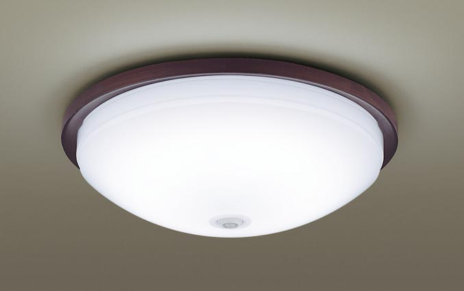 パナソニック天井直付型 LED(昼白色) シーリングライト 拡散タイプ ・ON OFF型・明るさセンサ付1灯器具相当
