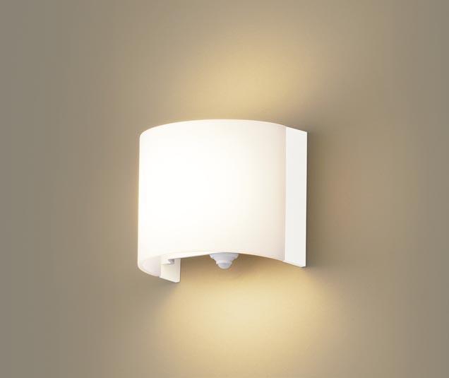 パナソニック壁直付型 LED(電球色) ブラケット 拡散タイプ FreePa・ON OFF型・明るさセンサ付 白熱電球60形1灯器具相当