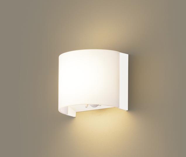 パナソニック壁直付型 LED(電球色) トイレ灯・ブラケット 拡散タイプ FreePa・ON OFF型・明るさセンサ付 白熱電球60形1灯器具相当