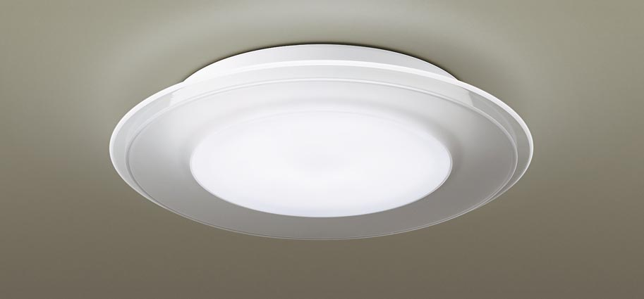 パナソニック天井直付型 LED(昼光色・電球色) シーリングライト パネル付型 ~8畳