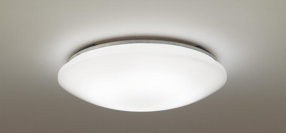 パナソニック天井直付型 LED(電球色) シーリングライト リモコン調光 ~8畳