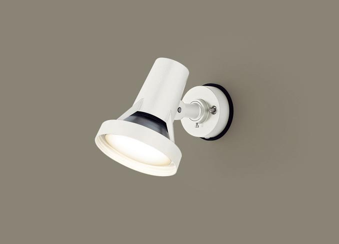 パナソニック天井直付型・壁直付型 LED(電球色) スポットライト・勝手口灯 防雨型 ハイビーム電球100形1灯器具相当 ランプ付き