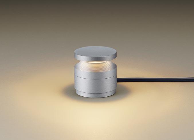パナソニック据置取付型 LED(電球色) ガーデンライト 美ルック・下方配光タイプ・拡散タイプ・スパイク付 防雨型
