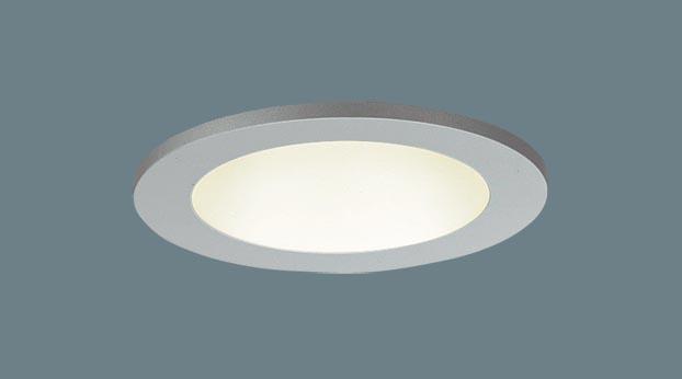 パナソニック天井埋込型 LED(電球色) 軒下用ダウンライト 美ルック・浅型9H・高気密SGI形・拡散タイプ 防雨型 埋込穴φ85 パネル付型