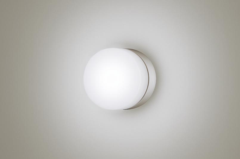 パナソニック天井直付型・壁直付型 LED(昼白色) ポーチライト・浴室灯 拡散タイプ 防湿型・防雨型 白熱電球40形1灯器具相当 40形