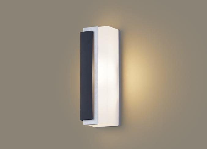 パナソニック壁直付型 LED(電球色) ポーチライト 拡散タイプ 防雨型 パネル付型 白熱電球40形1灯器具相当 40形