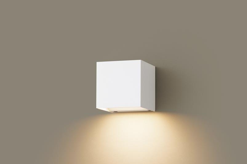 パナソニック壁直付型 LED(電球色) ブラケット・ポーチライト 美ルック・拡散タイプ 防雨型 白熱電球60形1灯器具相当