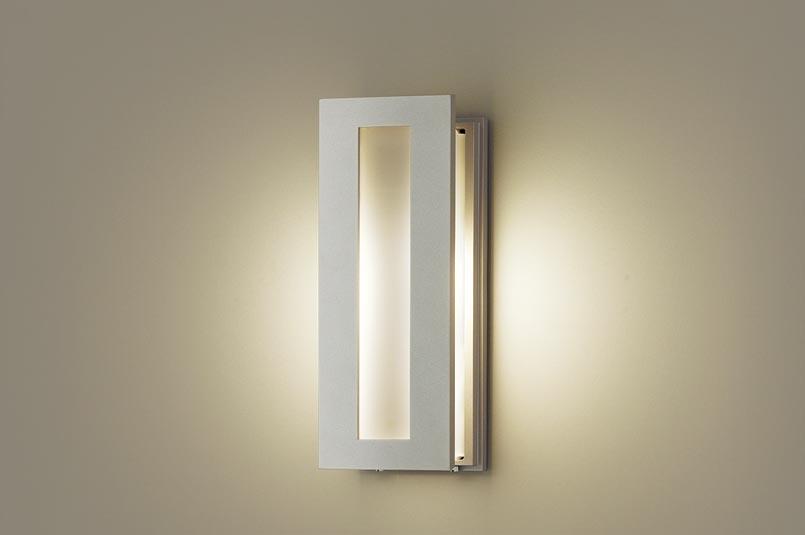【エントリーでポイント+5倍!】[N]パナソニック壁直付型 LED(電球色) ポーチライト 密閉型 防雨型 白熱電球40形1灯器具相当 ランプ付き