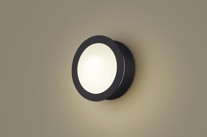 パナソニック天井直付型・壁直付型 LED(電球色) ポーチライト 密閉型 防雨型 白熱電球40形1灯器具相当 ランプ付き