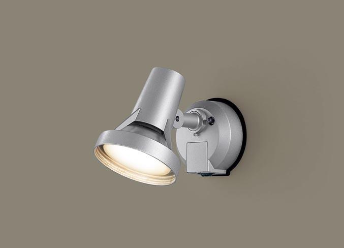 パナソニック壁直付型 LED(電球色) スポットライト・勝手口灯 防雨型・フラッシュ・ON OFF型・明るさセンサ付 ランプ付き