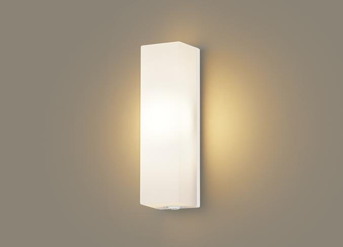 パナソニック壁直付型 LED(電球色) ポーチライト 拡散タイプ 防雨型・FreePaお出迎え・段調光省エネ型・明るさセンサ付 白熱電球60形1灯器具相当