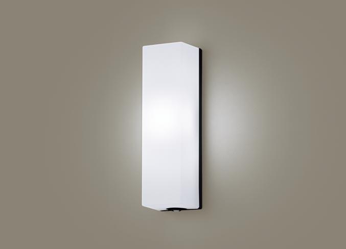 パナソニック壁直付型 LED(昼白色) ポーチライト 拡散タイプ 防雨型・FreePaお出迎え・段調光省エネ型・明るさセンサ付 白熱電球60形1灯器具相当