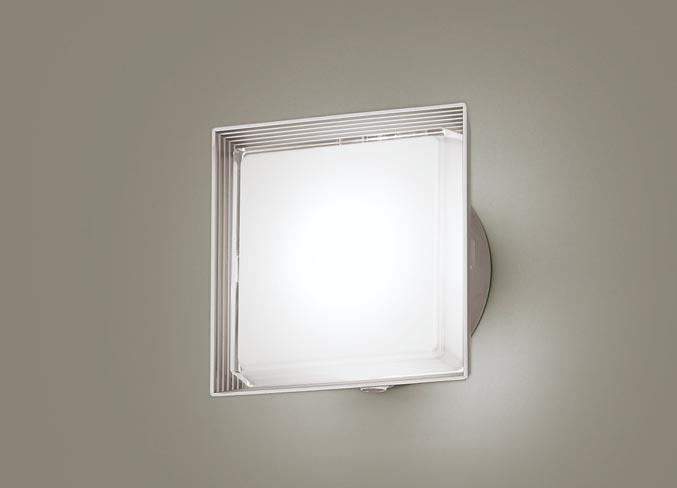 パナソニック壁直付型 LED(昼白色) ポーチライト 拡散タイプ・密閉型 防雨型・FreePaお出迎え・フラッシュ・明るさセンサ付 40形
