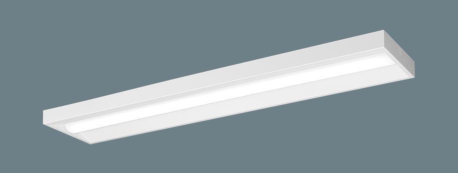 パナソニック天井直付型 40形 一体型LEDベースライト スリムベース 直管形蛍光灯FLR40形2灯器具相当 FLR40形・4000 lm(節電)