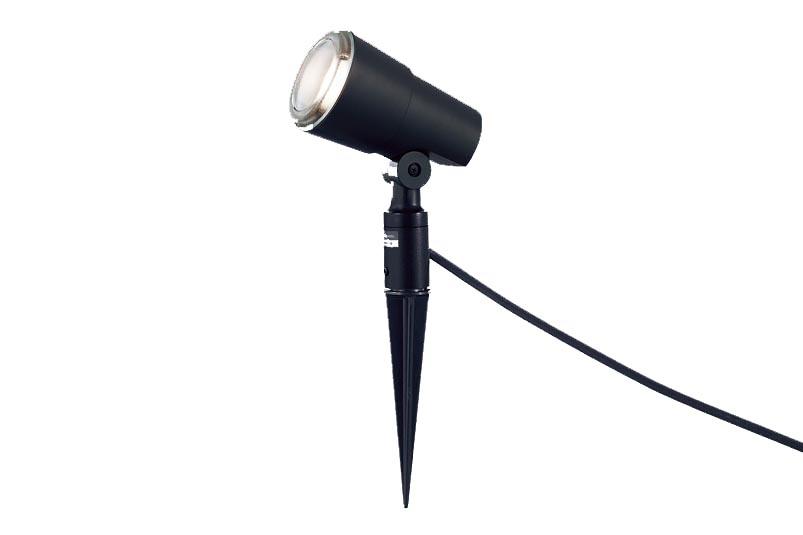 パナソニック地中埋込型 LED(電球色) スポットライト・ガーデンライト 照射面中心60形電球1灯相当・スティック付 防雨型 スティックタイプ ランプ付き